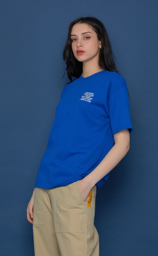 スローアシッド(SLOW ACID) 19SU Short-T (BLUE)