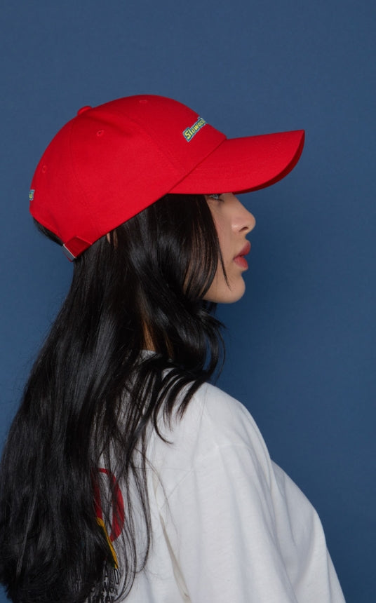 スローアシッド(SLOW ACID) TIMEFRAME Cap (RED)