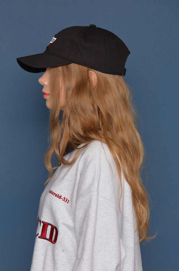 スローアシッド(SLOW ACID) Story Logo Cap (BLACK)