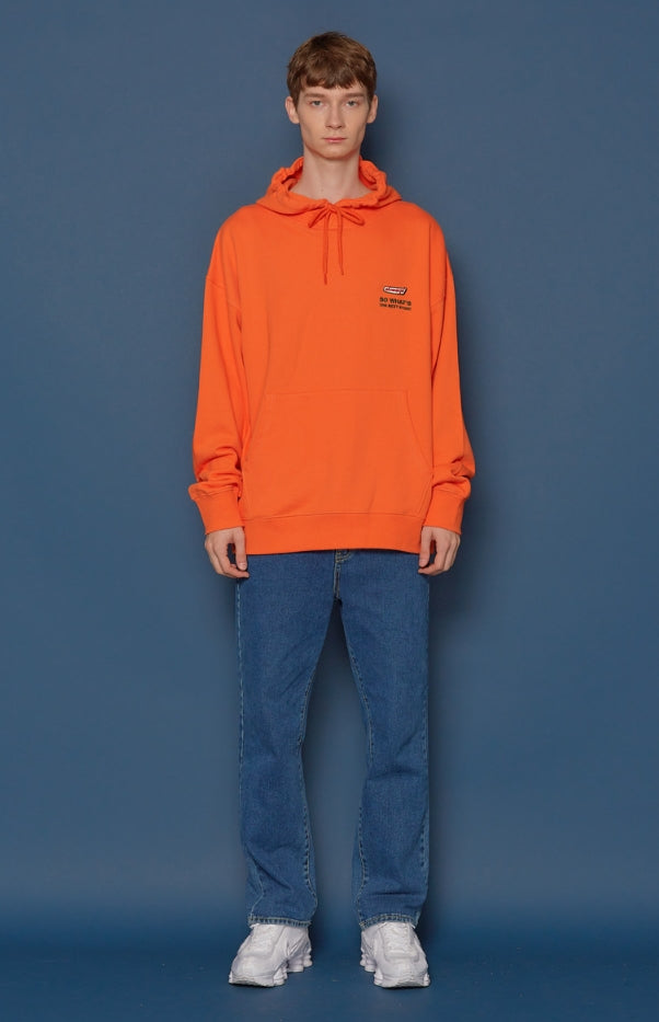スローアシッド(SLOW ACID) Listen Up Hoodie (ORANGE)