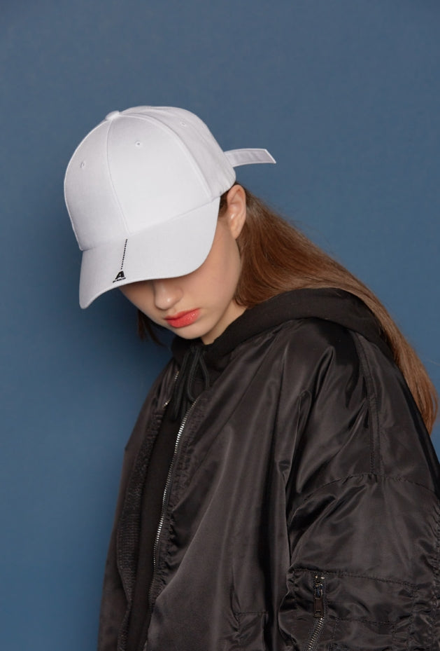 スローアシッド(SLOW ACID) Dash Line Cap (WHITE)