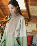 ダブルユーブイプロジェクト(WV PROJECT) TRIP ADVENTURE ANORAK LIGHT KHAKI MJMT7306