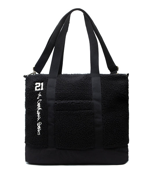 ロマンティッククラウン(ROMANTIC CROWN)YETI TOTE BAGS_BLACK