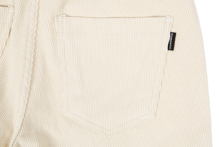ロマンティッククラウン(ROMANTIC CROWN)CORDUROY POCKET PANTS_OATMEAL