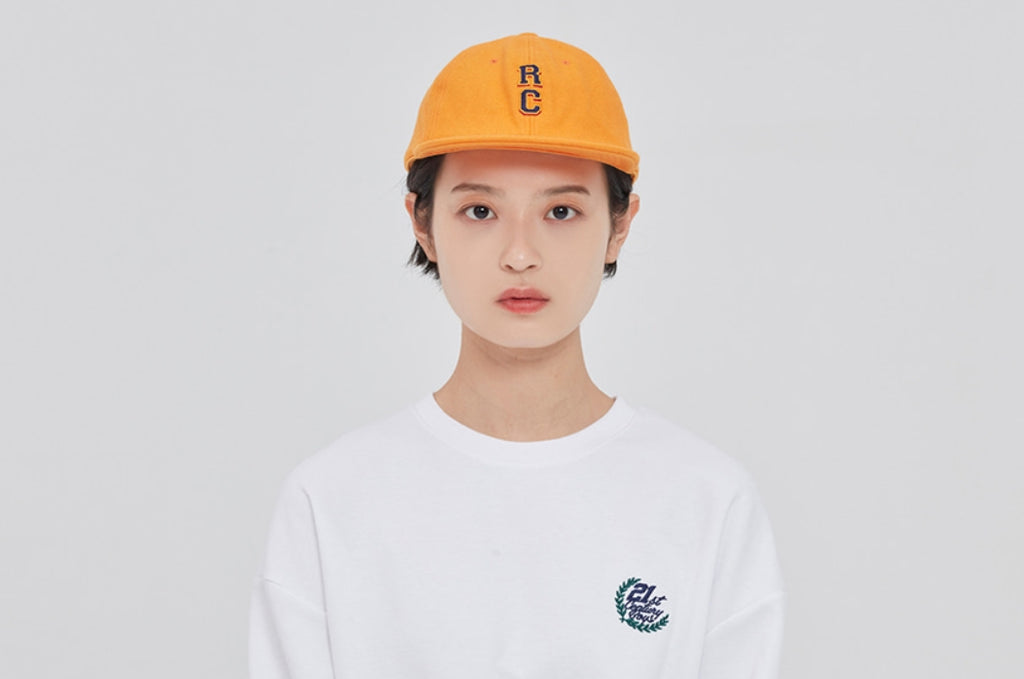 ロマンティッククラウン(ROMANTIC CROWN) RC LOGO WOOL BALL CAP_YELLOW