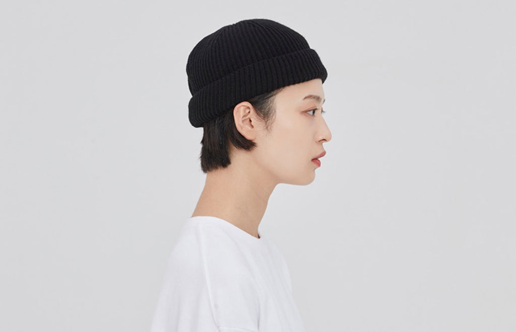 ROMANTIC CROWN(ロマンティック クラウン)LAUREL CROWN WATCH CAP_BLACK