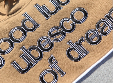 ユベスコ(UBESCO) Good Luck Clty hooded Beige MSHD8008