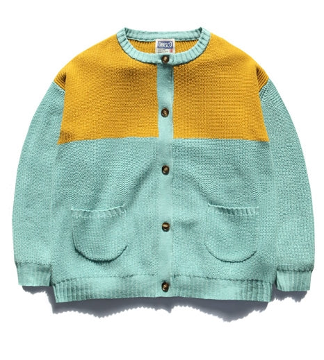 ユベスコ(UBESCO) COOKIES KNLTTING CARDIGAN MSOT8043
