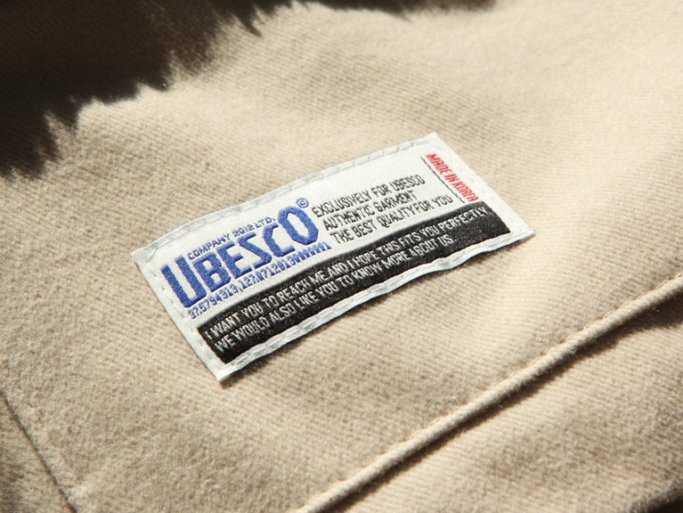 ユベスコ(UBESCO) PUPPY WOOL JACKET KSOT8051