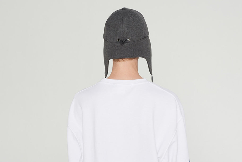 ベドインベド(BADINBAD) BIB STRING TROOPER HAT_CHARCOAL