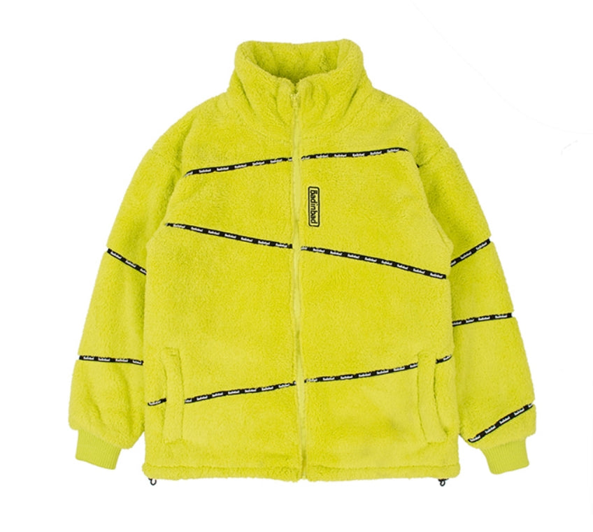 ベドインベド(BADINBAD) DOUBLENESS FLEECE JUMPER_LIGHT GREEN