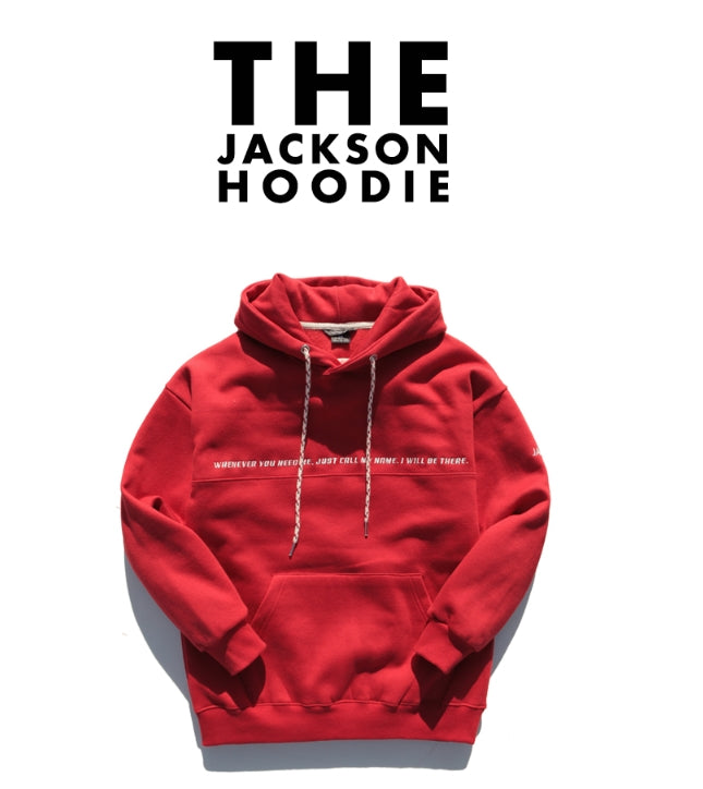 ダブルユーブイプロジェクト(WV PROJECT) THE JACKSON HOODIE RED JJHD7048