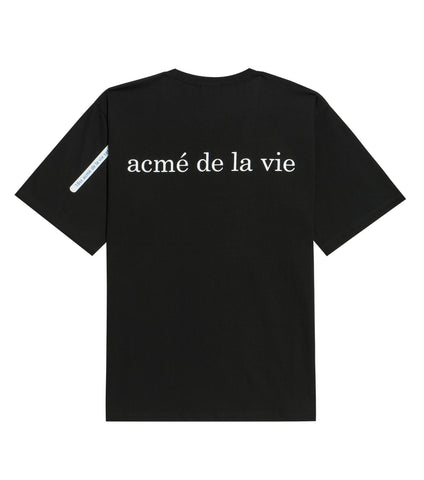 アクメドラビ(acme' de la vie) ADLV BABY FACE SHORT SLEEVE T-SHIRT BLACK SHOCKS