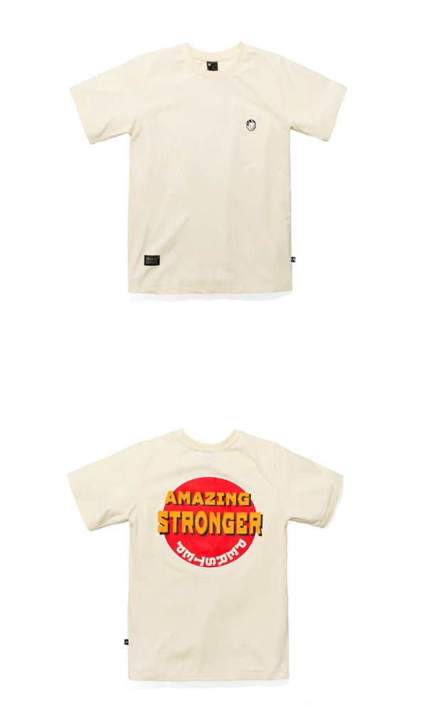 パーステップ(PERSTEP) Good Smile Short Sleeve T-Shirt 3種 KHST4071