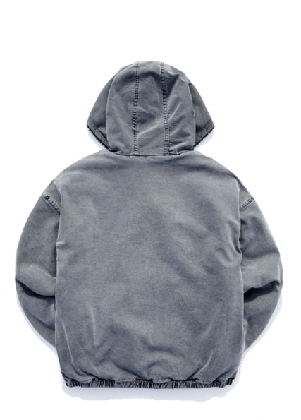 パーステップ(PERSTEP) Pigment Hoodie Zip-up Jumper 4color SMOT4282
