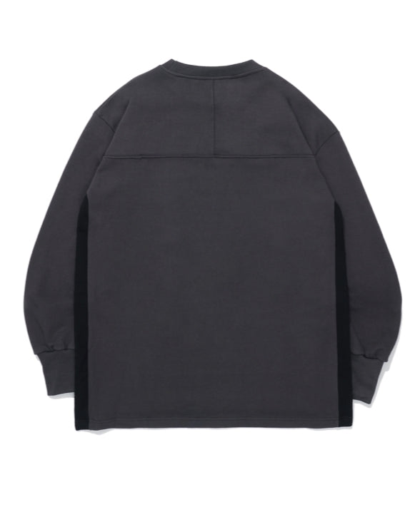 AA/C(ダブルエーシー)  Galaxy HITman Crewneck (dark gray)