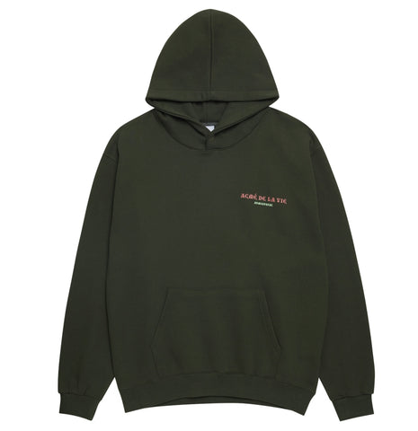 アクメドラビ(acme' de la vie) COBRA GLOW IN THE DARK HOODIE KHAKI