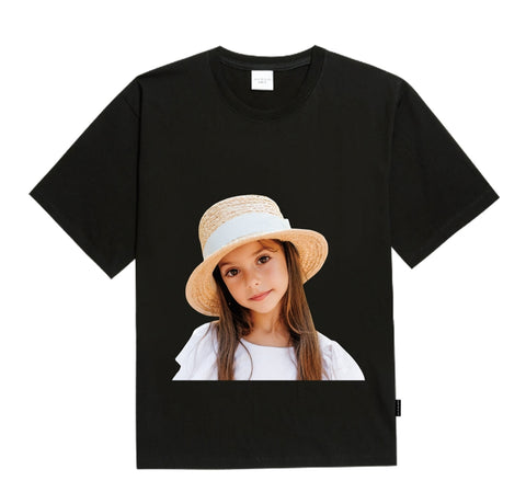 アクメドラビ(acme' de la vie) ADLV BABY FACE SHORT SLEEVE BLACK FEDORA