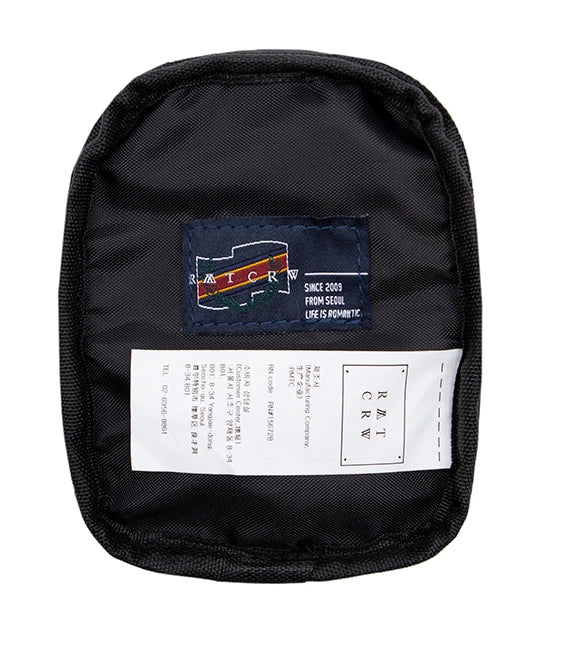 ロマンティッククラウン(ROMANTIC CROWN) CEREMONY CORDURA COIN BAG_BLACK