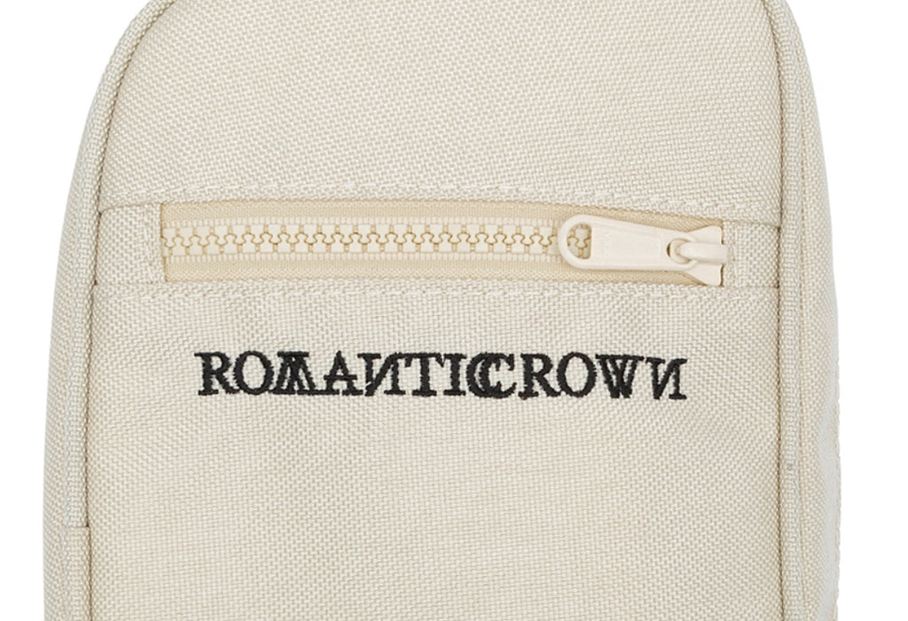 ロマンティッククラウン(ROMANTIC CROWN) CEREMONY CORDURA WAIST BAG_OATMEAL