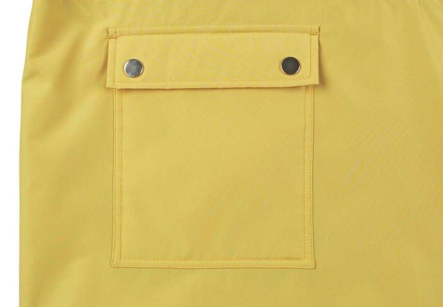 ベドインベド(BADINBAD) BACK POCKET ANORAK_LIME YELLOW