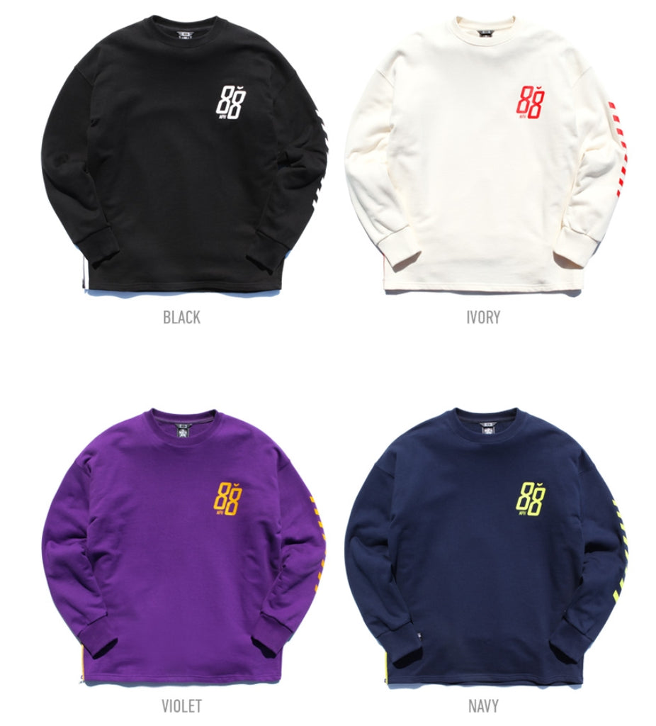 ティーダヴリューエヌ(TWN) EIGHT ZIPPER LONG SLEEVE STLT3144