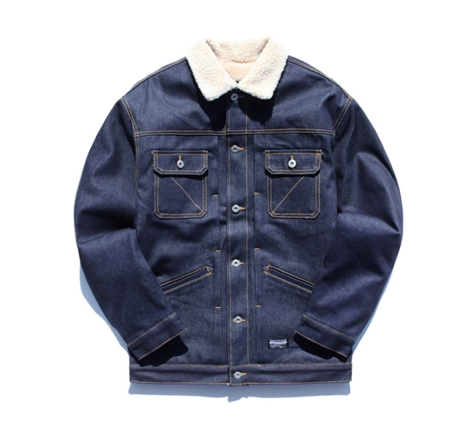 ティーダヴリューエヌ(TWN) Heavy Warm Trucker Denim Jacket STOT3077