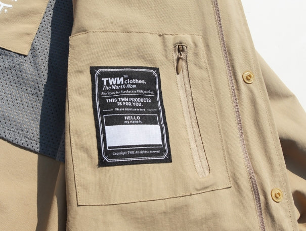 ティーダヴリューエヌ(TWN) Solid long Jacket STOT3051