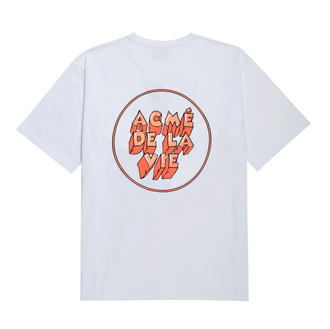 アクメドラビ(acme' de la vie) ADLV ICE LOGO SHORT SLEEVE T-SHIRT ORANGE