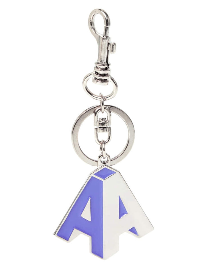 アクメドラビ(acme' de la vie) ADLV 'A' METAL KEY RING LAVENDER