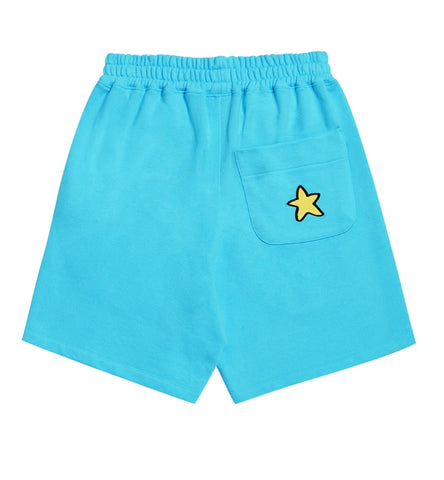 アクメドラビ(acme' de la vie) EMBOSSING STAR SHORT PANTS SKY BLUE
