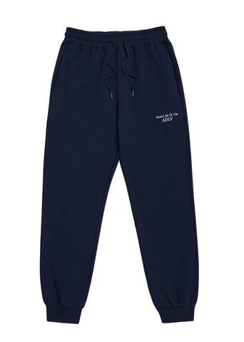 アクメドラビ(acme' de la vie) BASIC LOGO PANTS FOR MEN NAVY