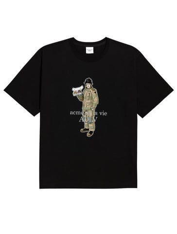 アクメドラビ(acme' de la vie) FIRE FIGHTER SHORT SLEEVE T-SHIRT