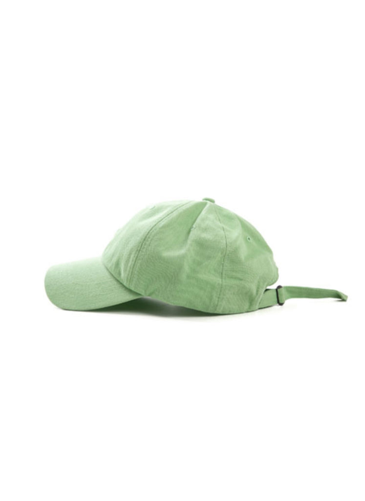 ANGLAN(アングラン) Maple Leaf Ball Cap - Light Green