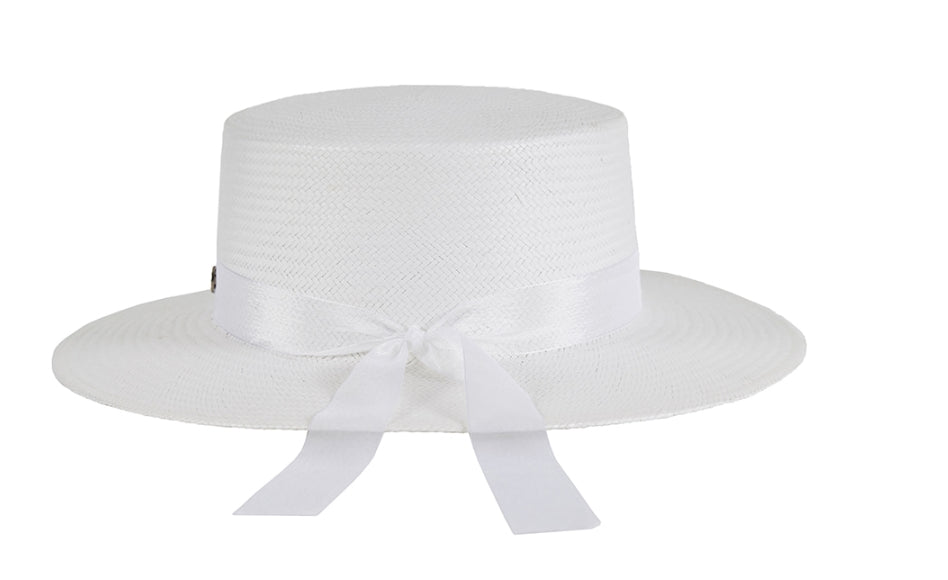 VARZAR(バザール) Pure Paper Bottle Hat white
