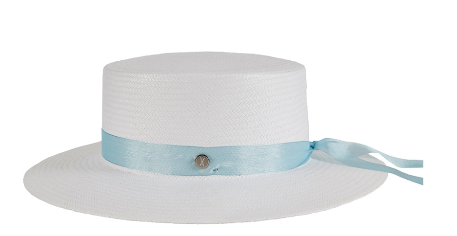 VARZAR(バザール) Pure Paper Bottle Hat blue