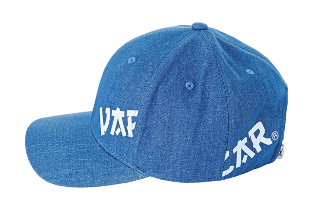 VARZAR(バザール)  Side view point ball cap indigo