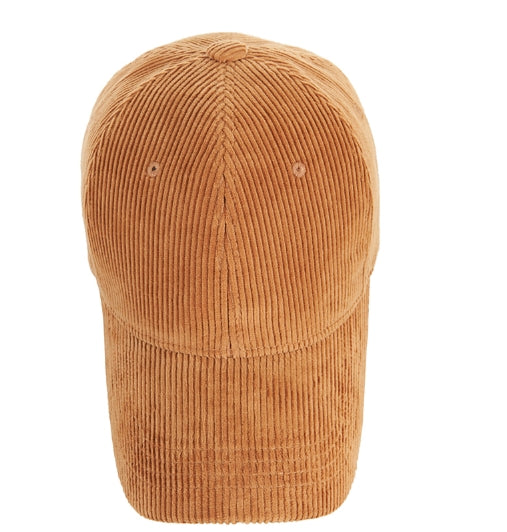 VARZAR(バザール) Gold Point Corduroy Overfit Ball Cap Brown
