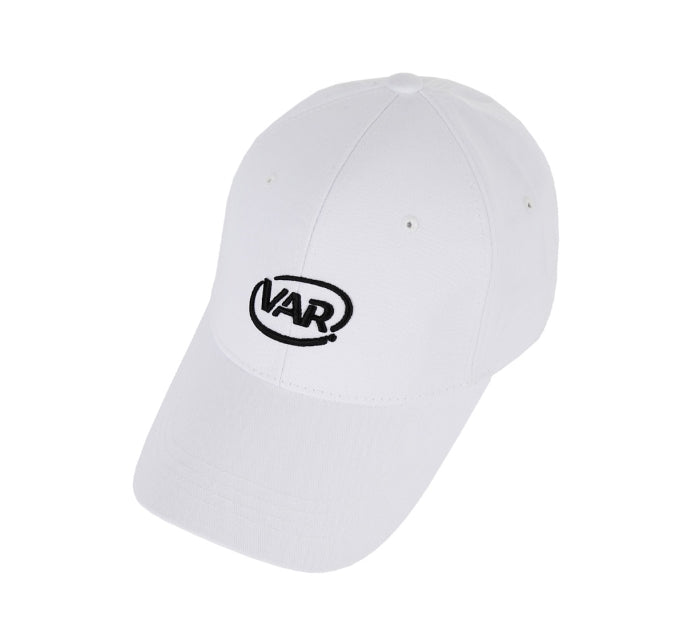 VARZAR(バザール) 3D Circle Logo Overfit Ball Cap White