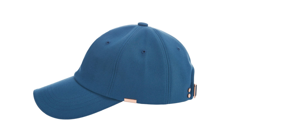 VARZAR(バザール) Rose Gold Double Link Overfit Ball Cap navy