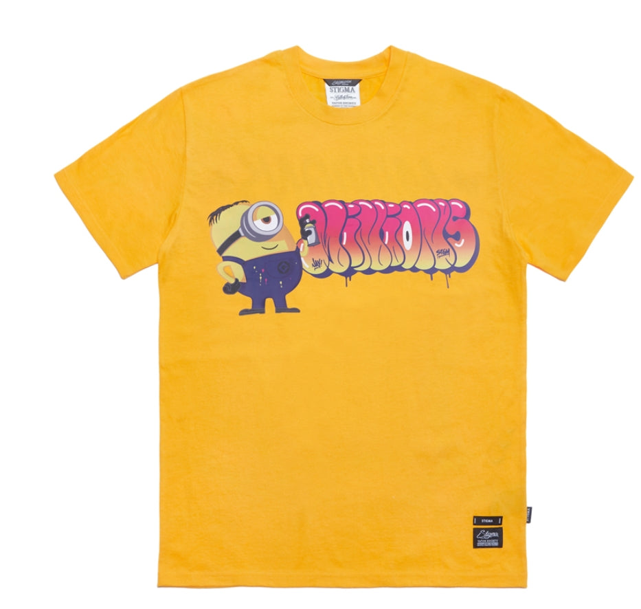 STIGMA(スティグマ)  STIGMA X MINIONS T-SHIRTS YELLOW