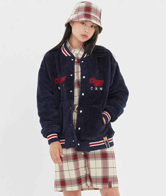 ロマンティッククラウン(ROMANTIC CROWN)[CHUPA CHUPS X RMTCRW]FLEECE JUMPER_NAVY
