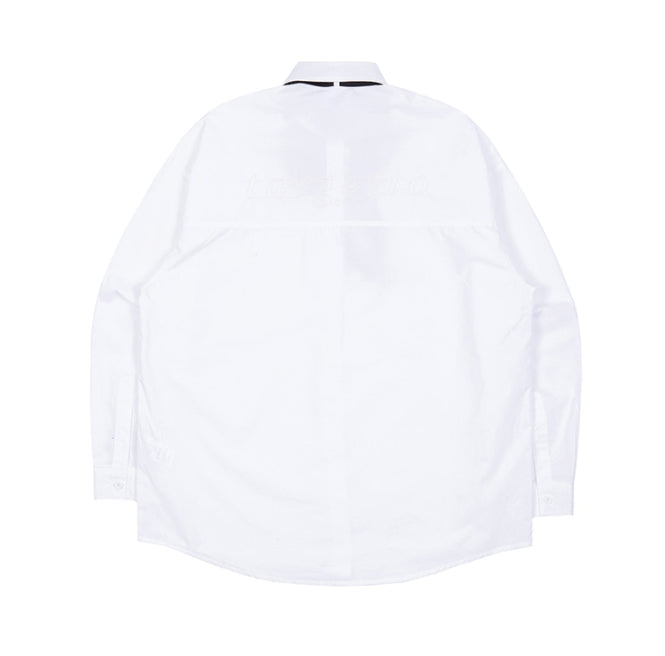 TARGETTO(ターゲット)  RIBBON TIE SHIRT_WHITE