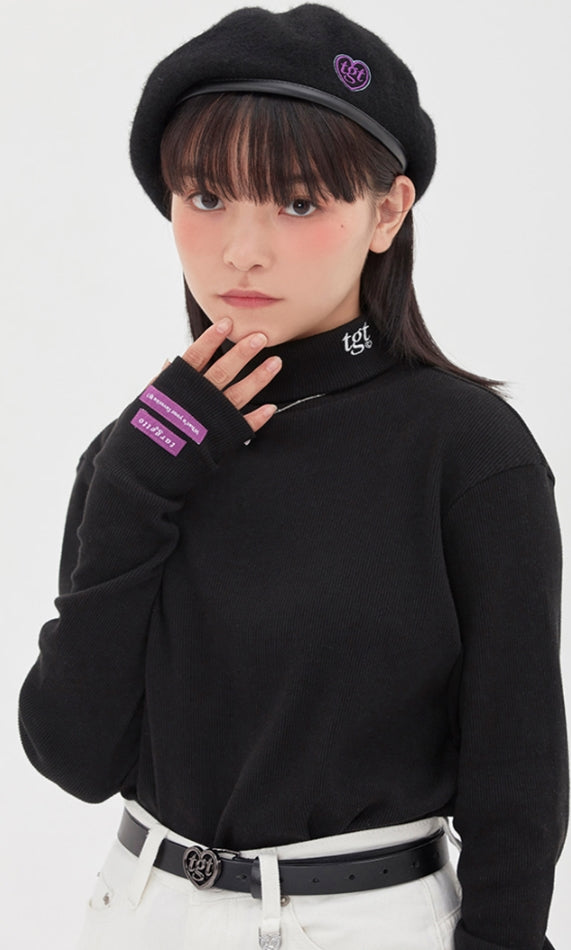 TARGETTO(ターゲット)  WARMER TURTLENECK_BLACK