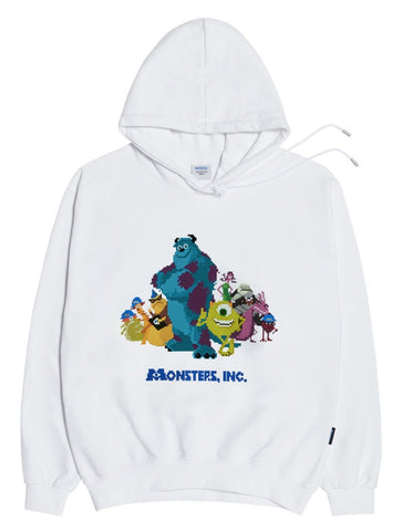 アクメドラビ(acme' de la vie)  [MONSTERS X ADLV] PIXEL_MONSTERS_ HOODIE
