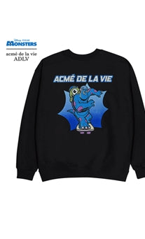 アクメドラビ(acme' de la vie)  [MONSTERS X ADLV] SCARE STUDENT SWEATSHIRT