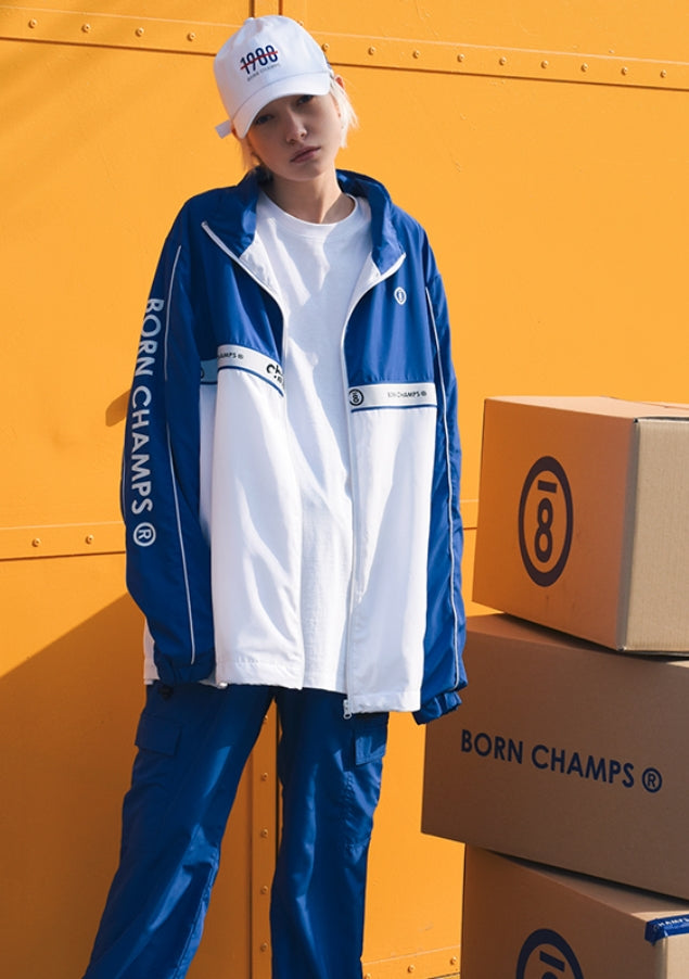 ボーンチャンプス(BORN CHAMPS) BC TWO LINE JACKKET BLUE CERAMJK01BL