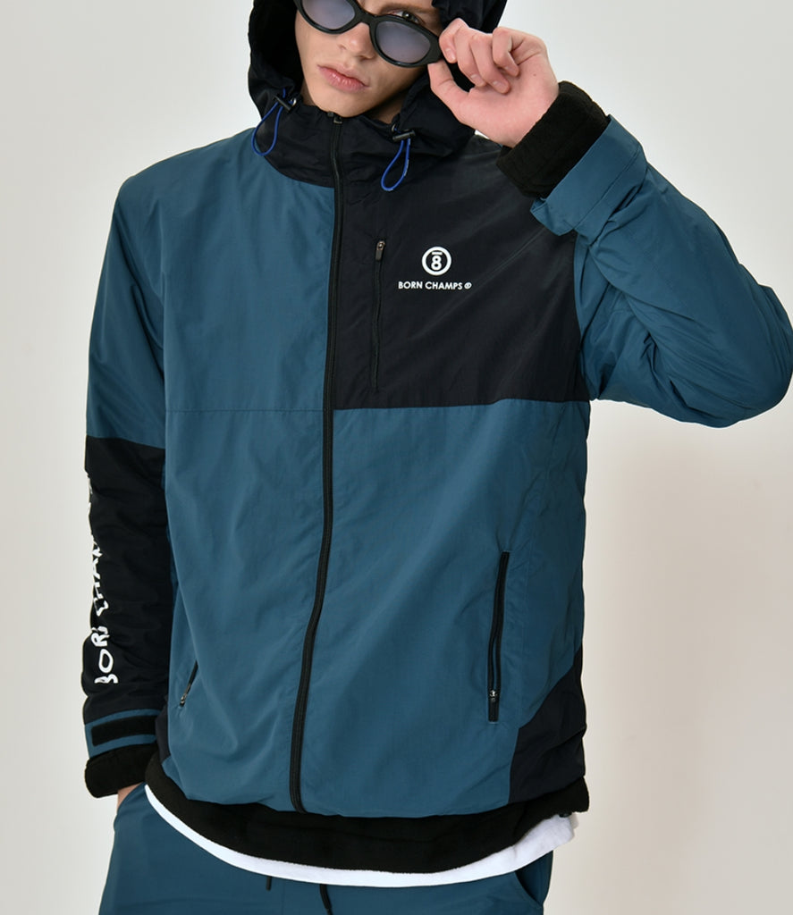 ボーンチャンプス(BORN CHAMPS) BC BLOCK JACKET GREEN CERCMJK02GR