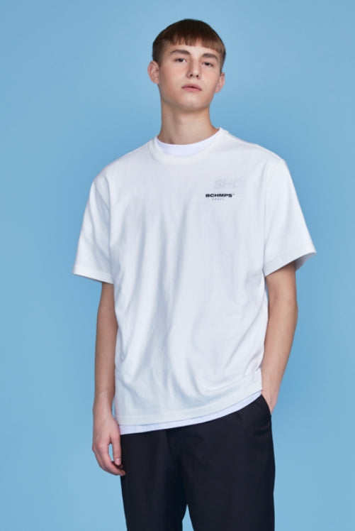 ボーンチャンプス(BORN CHAMPS)   BASE TEE BETBMTS01WH