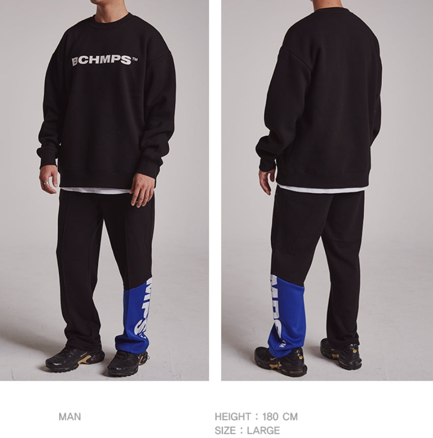ボーンチャンプス(BORN CHAMPS) BCHMPS SWEAT SHIRT CESDMMT01BL